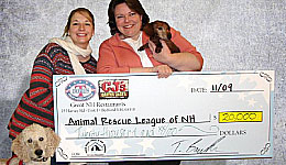 Animal Rescue League of NH - $20,000!